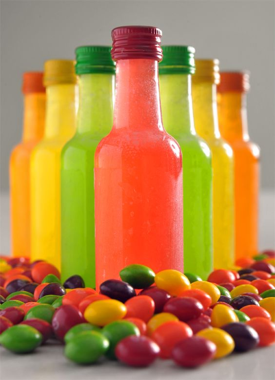 Skittle Infused 99 Schnapps. Which I've been doing for years!