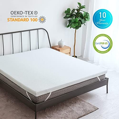 Enjoy Exclusive For Co Z 3 Inch Gel Infused Cooling Memory Foam Mattress Topper Twin Size Ventilated Air Cell Technology W Removable Ice Silk Cover Perfect In 2020 Memory Foam Mattress Topper Comfort Mattress Cooling
