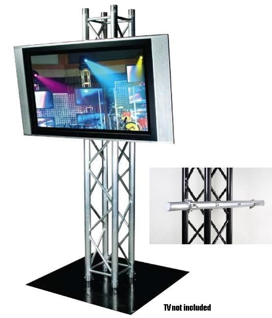 Exhibition Stand Tv : Plasma tv stand h truss quot stands
