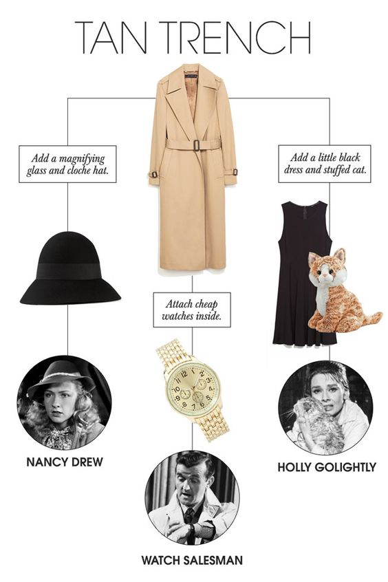 Last,Minute Halloween Costumes , 24 Chic Costumes You Can Make With Clothes Already in