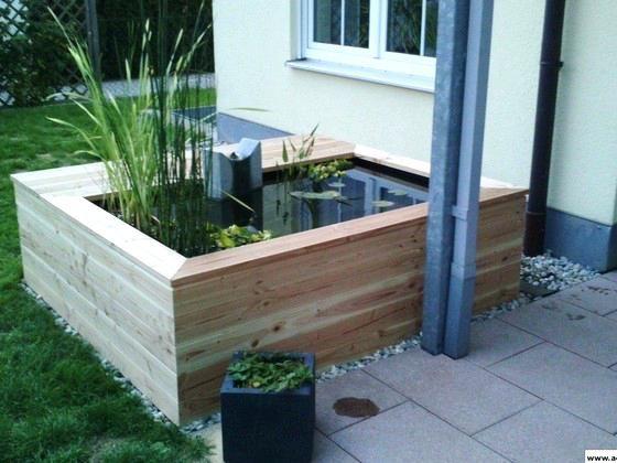 Bildergebnis Fur Hochteich Bauen Hochteich Wasserspiel Garten Teich