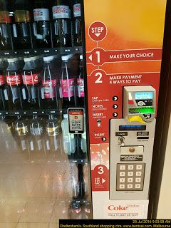 Buy your drinks from vending machine with clear numeric indexed directions   Food-And-Drinks Index Steps Vending-Machines