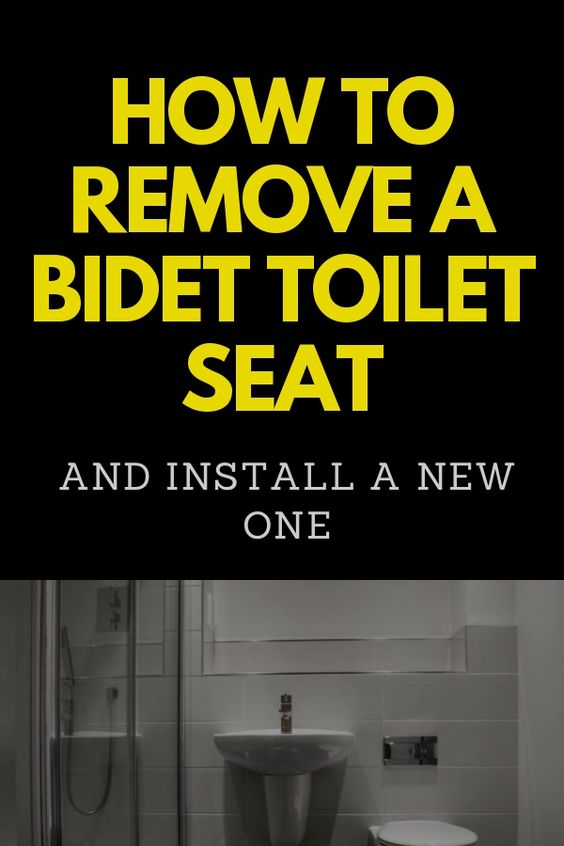 How To Remove A Bidet Toilet Seat And Install A New One Video