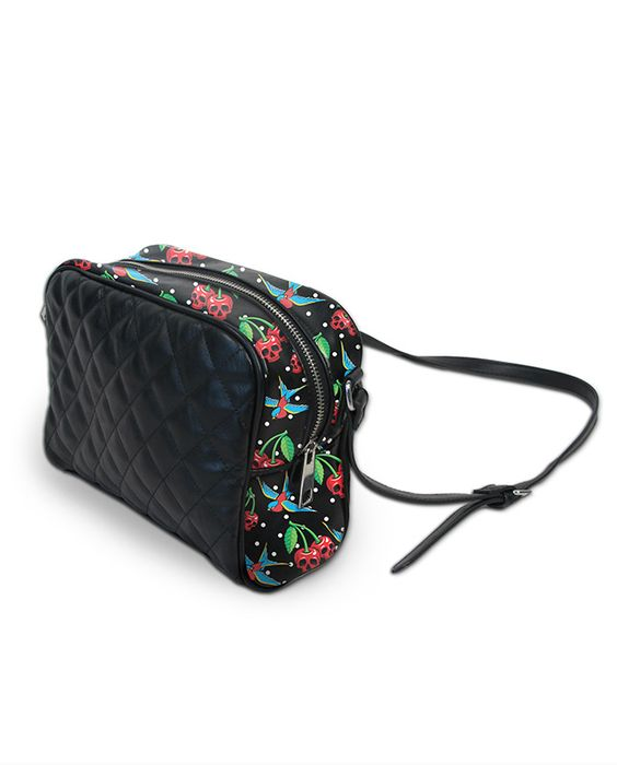 Liquor Brand CHERRIES SKULLS Sling Bags-Purse/Taschen