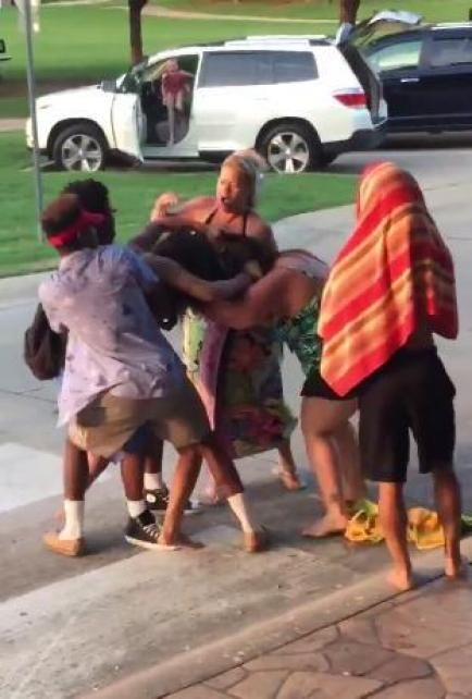 Woman Involved in McKinney Pool Fight Put on Administrative Leave by Employer McKinney #McKinney