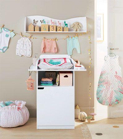 table langer happy papillons d co chambre b b linge de lit b b collection printemps. Black Bedroom Furniture Sets. Home Design Ideas
