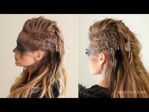 Viking Warrior Halloween Hairstyle Missy Sue Viking Hair Lagertha Hair Hair Styles