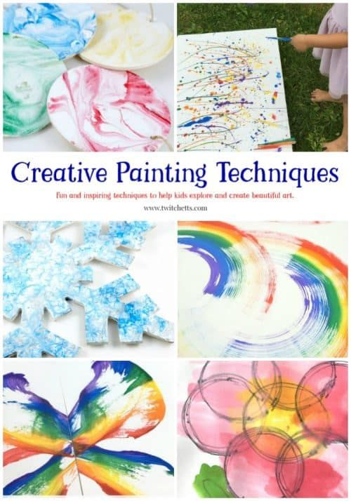 15 Amazing Creative Painting Art Project Ideas For Kids In 2020