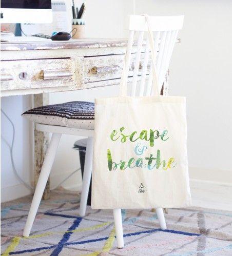 """Le tote bag """"Escape"""" - Ventes Privées"""