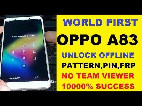 How To Unlock Oppo A83 Pattern Pin Frp New Sequrity 2019 Offline