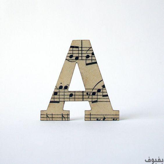 صور حرف A أجمل صور حرف A بفبوف Typography Art Quotes Lettering Vintage Paper