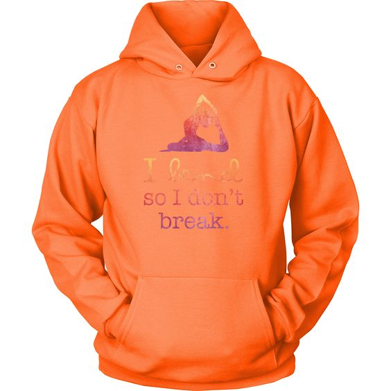 Yoga - I bend so i dont break - Unisex Hoodie T Shirt - TL00890HO