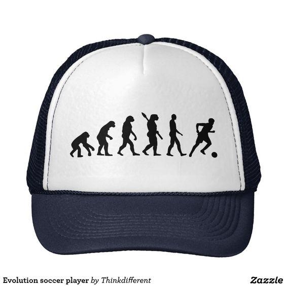 Evolution soccer player
