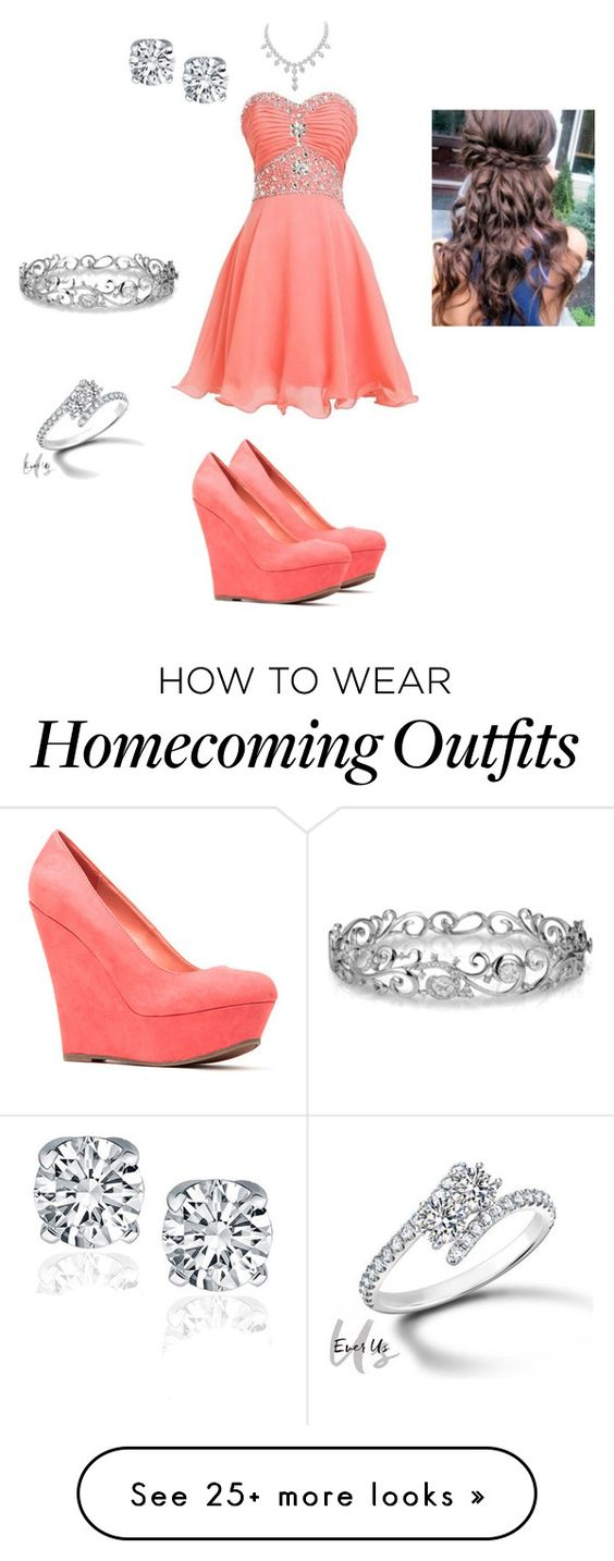 """""""Best friends homecoming outfit"""" by tealzebra36 on Polyvore featuring Effy Jewelry and Forevermark"""