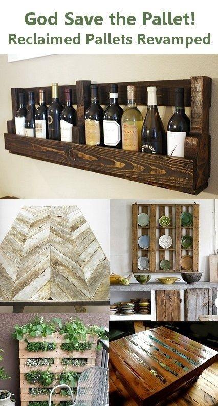 crafts-crafts-crafts crafts-crafts-crafts: Repurposed Pallet, Wood Pallet, Reclaimed Pallet, Diy Craft, Wine Bottle