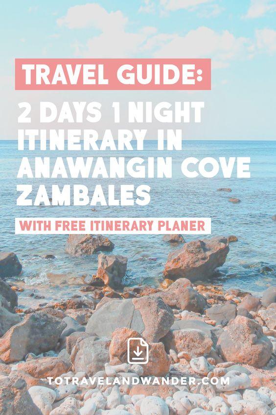 2 Days 1 Night in Anawangin Cove Zambales Philippines
