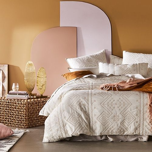 Home Republic - Aries Quilted Quilt Cover | Bedroom | Adairs