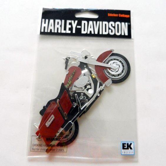 Harley Davidson Motorcycle Sticker By CloudNineSupplyShop On Etsy - Harley davidsons motorcycles stickers