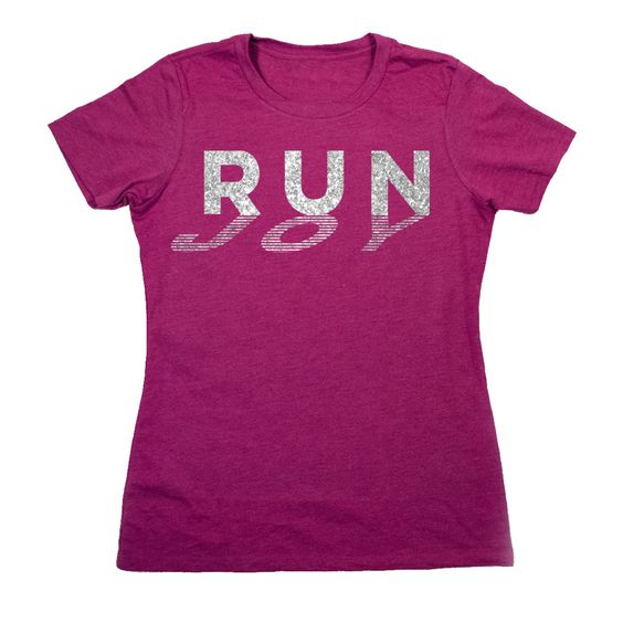 Women's Everyday Runners Tee Run Joy: