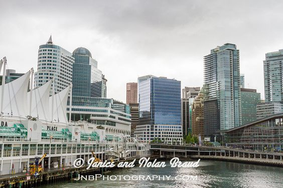 Canada Place, artistically beautiful Cruise Ship Terminal and entertainment complex, at Vancouver Harbor, Vancouver, British Columbia, Canada.   top beaches in the world london tour trip europe vacation tour canada tourism places Bali tour travel