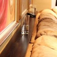 Make a functional sofa shelf: