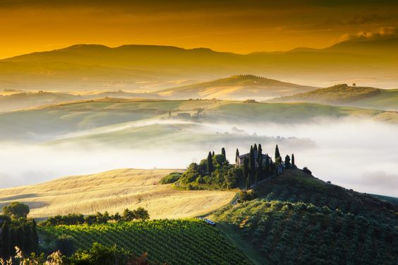 Photograph Val d'Orcia Sunlight by Anel Alijagić on 500px