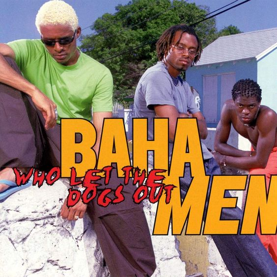 Baha Men – Who Let the Dogs Out? (single cover art)