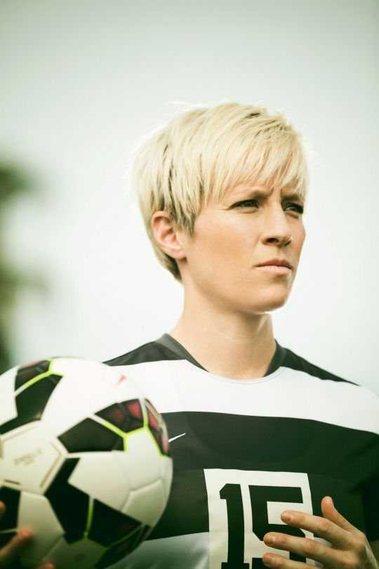 Megan Rapinoe - Photo By Kevin Scanlon