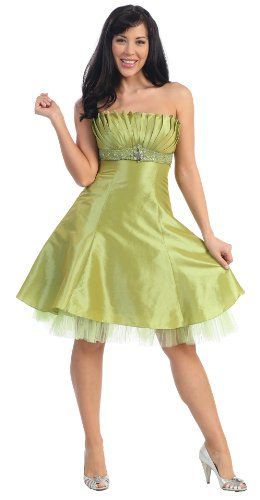 Strapless Fancy Party Junior Prom Dress #2596 « Dress Adds Everyday