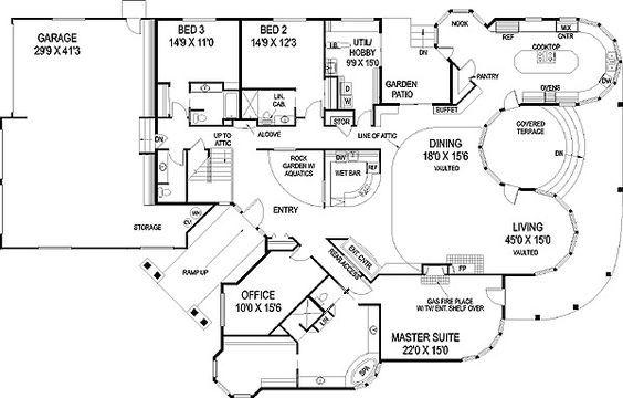 Plan 77248ld Artistic Floor Plan Floor Plans Home Design Floor Plans House Plans