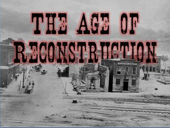 reconstruction policies after the civil war Civil war review and reconstruction vocabulary quiz matching ___ 1 the period after the civil war, when the united states a carpetbaggers government struggled to bring former confederate states b scalawags.