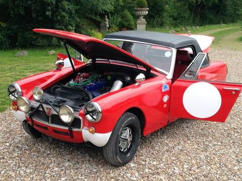 Mg midget rally car
