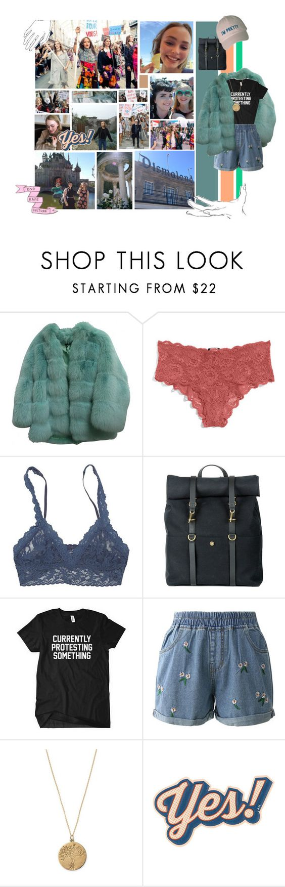 """The revolution starts here."" by shans10 ❤ liked on Polyvore featuring Chanel, Umbra, Gucci, Cosabella, Hanky Panky, Mismo, Chicwish, Stella & Dot, Anya Hindmarch and American Eagle Outfitters"