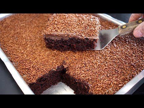 Bolo De Chocolate Facil Rapido Fofo Sem Batedeira E