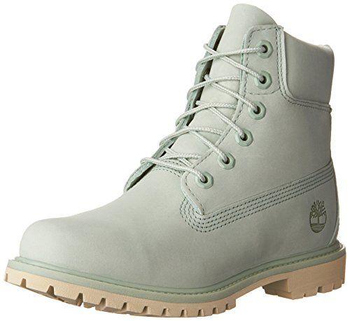Timberland Women's 6in Premium W Winter Boot, Silt Green ...