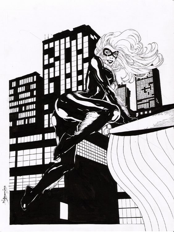 Black Cat by Di Amorim