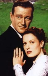ONE OF THE BEST! The Quiet Man with John Wayne and Maureen O'Hara in 1952. I will never get tired of watching it. Ever.: