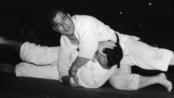 Helio Gracie x Masahiko Kimura, 1951, Maracanã (Foto: Arquivo / O Globo)