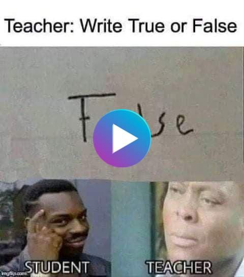 Wtf True Or False In 2020