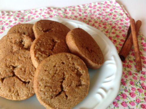 Biscoitinho de canela - ideal para acompanhar um chá ou café <3.
