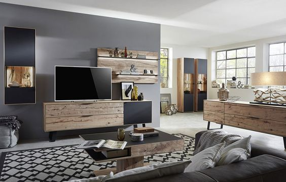 wwwxxxlutzat wohnzimmer wohnwaende komplette-wohnwaende - wohnzimmer braun petrol