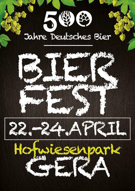 500 Jahre Deutsches Bier-Biergartenfest mit Live-Musik EINTRITT frei !