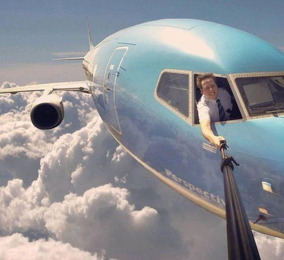 Image result for selfie flight