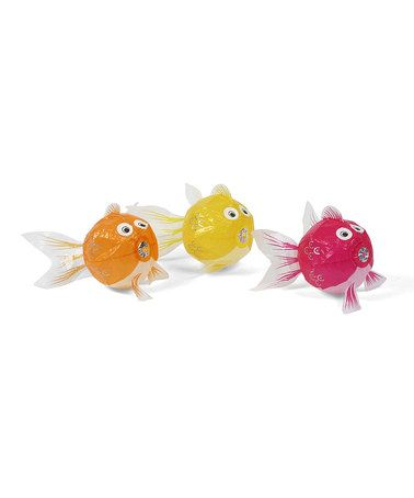 Take a look at this Orange Goldfish Paper Balloon Set by Miya Company on #zulily today!