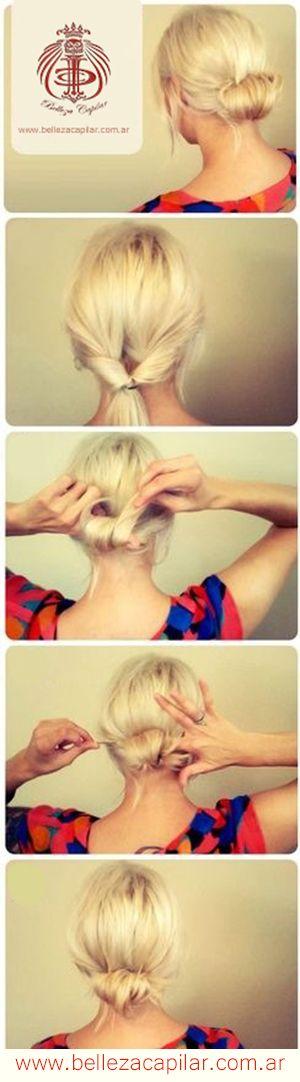 Acá te ofrezco unos tips para que en unos simples pasos puedas hacerte un peinado super fácil y a la moda. Christian Diaz by. Belleza Capilar www.bellezacapilar.com.ar