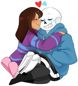 here, have some more Sans x Frisk fluff. this time in comic form. centering around Frisk in that swimsuit that i drew like a week ago. thank you, , for giving me the idea. 8D end me also is ...