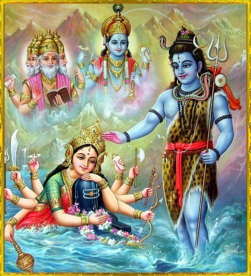 holy trinity and trimurti [trimurti = holy trinity] the trimūrti (english: 'three forms' sanskrit:trimūrti), tri  murati or trimurati, is a concept in hinduism in which the cosmic functions of.