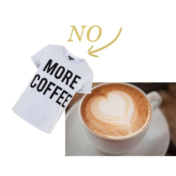 no more coffee by lenahcaruana on Polyvore featuring interior, interiors, interior design, home, home decor, interior decorating, Topshop, coffeewithdrawalsymptoms and coffeeaddiction: