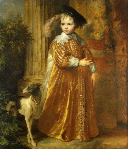 Anthony van Dyck, Portrait of William II, 1631