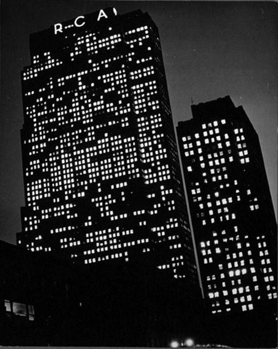 Rockefeller Center, New York. Photo: Andreas Feininger, 1940.